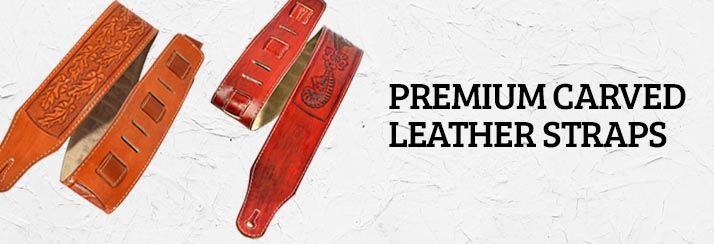 Premium Carved Leather Straps